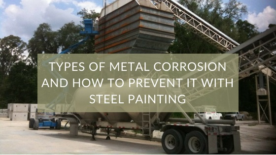 Types of Metal Corrosion and How to Prevent it with Steel Painting